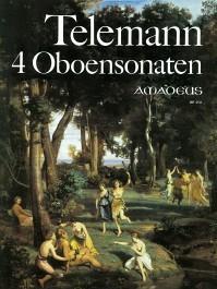 Four sonatas for oboe und b.c. – Georg Philipp Telemann, Winfried Michel