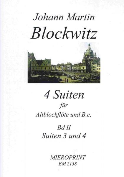 Suites pour la Flûte: Suites III und IV – Johann Martin Blockwitz