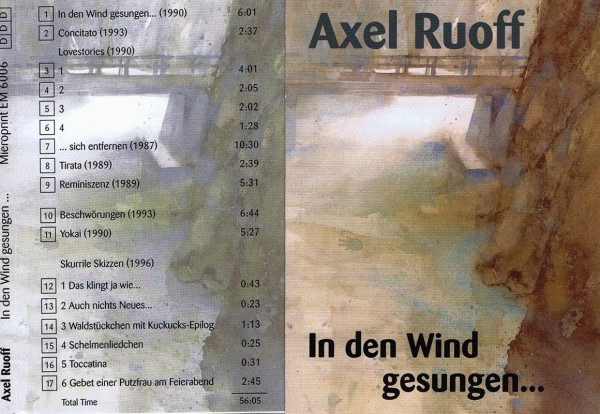 In den Wind gesungen... – Axel Ruoff