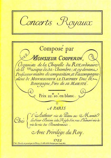 Concerts Royaux – François Couperin