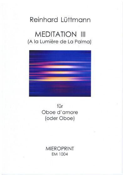 Meditation III – Reinhard Lüttmann