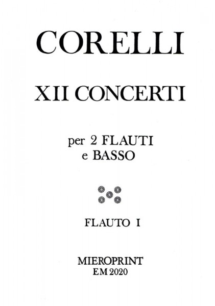 12 Concerti, Opus VI – Arcangelo Corelli