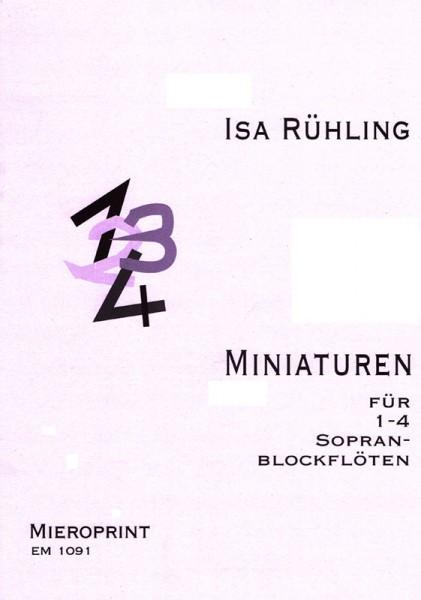 Miniaturen – Isa Rühling