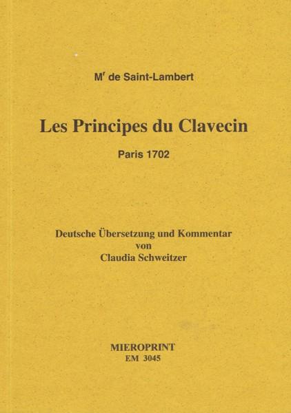 Principes du Clavecin – Monsieur de Saint-Lambert