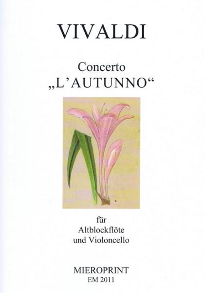 """Concerto """"L'autunno"""" – Antonio Vivaldi"""
