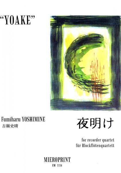 Yoake – Fumiharu Yoshimine