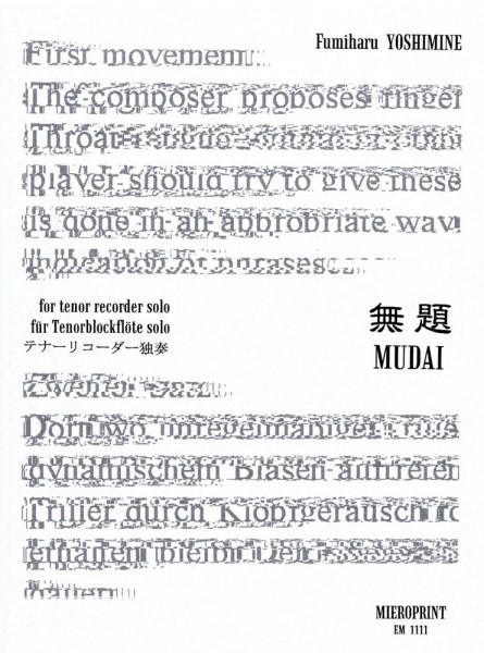 Mudai – Fumiharu Yoshimine