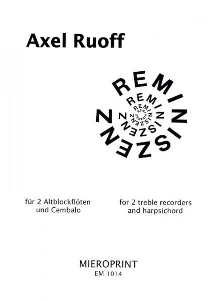Reminiszenz – Axel D. Ruoff