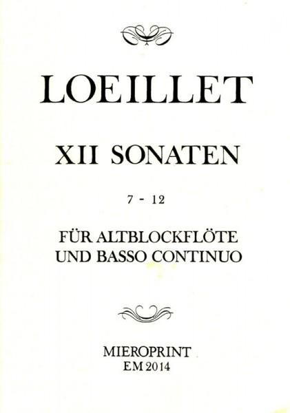 Sonatas op. 4: Vol. II – Jean-Baptiste Loeillet