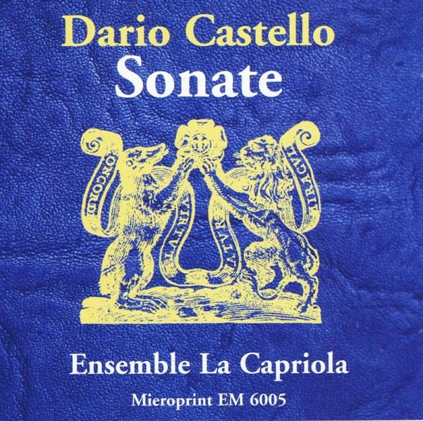 Sonaten aus dem Libro Primo und Secondo – Dario Castello
