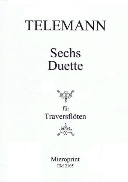 Sei Duetti per due Flauti – Georg Philipp Telemann