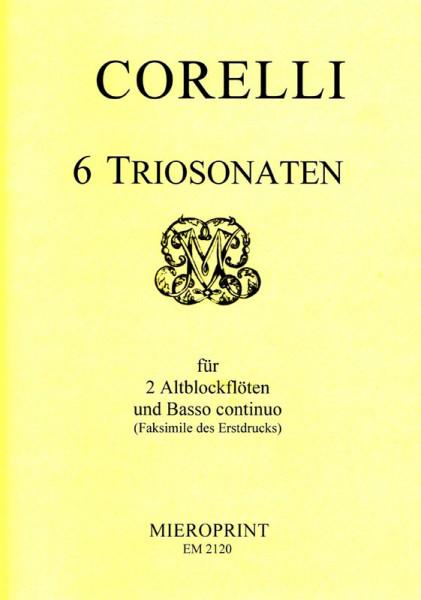 6 Triosonaten – Arcangelo Corelli