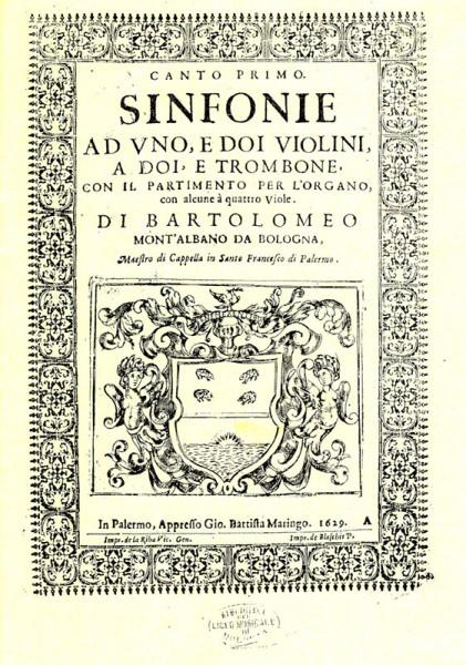 13 Sinfonien – Bartolomeo Montalbano