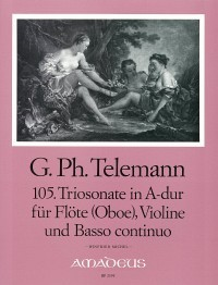 "3 ""Pariser Triosonaten"": Vol. III – Georg Philipp Telemann/ Winfried Michel"