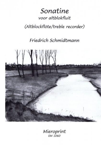 Sonatine voor altblokfluit – Friedrich Schmidtmann