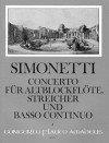 Simonetti/ Tomesini: Band V – Giovanni Paolo Simonetti