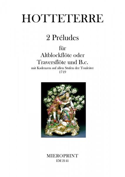 2 Préludes – Jaques Martin Hotteterre