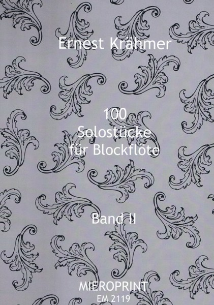 100 Solostücke op. 31: Band II – Ernest Krähmer
