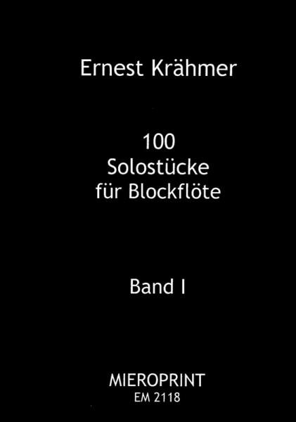 100 Solostücke op. 31: Band I – Ernest Krähmer