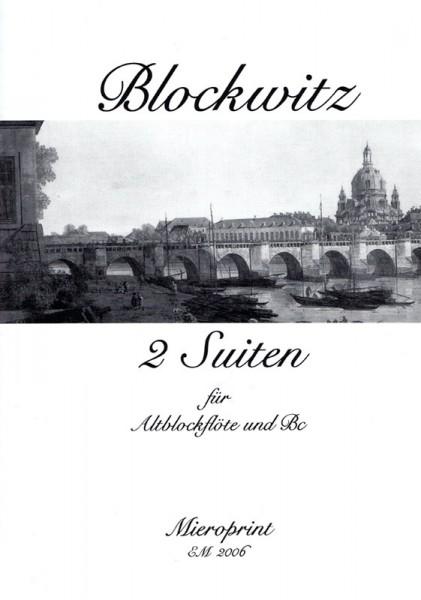 Suites pour la Flûte: I und II – Johann Martin Blockwitz