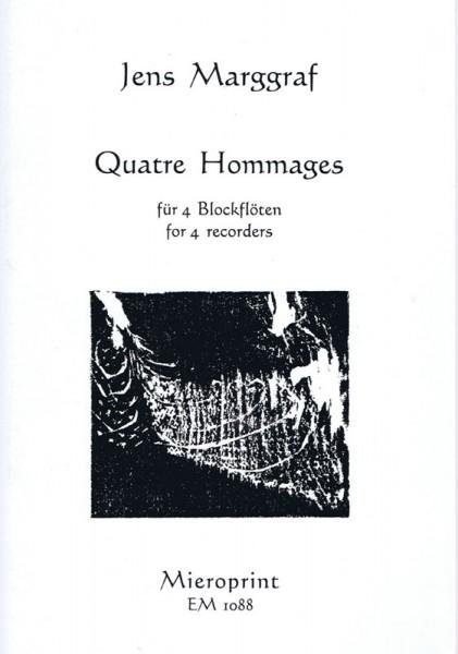 Quatre Hommages – Jens Marggraf