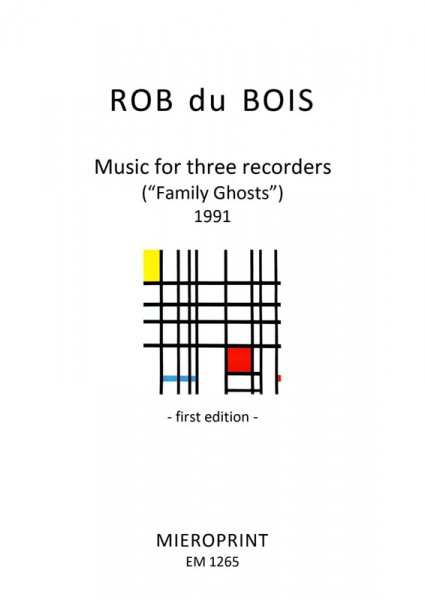 Music for three recorders – Rob Du Bois