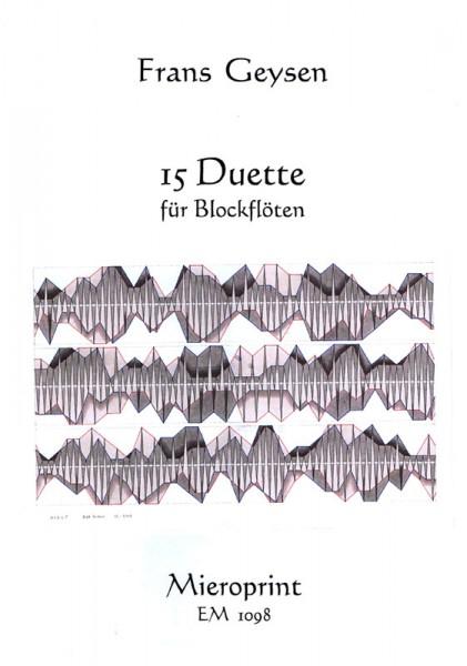 15 Duette – Frans Geysen