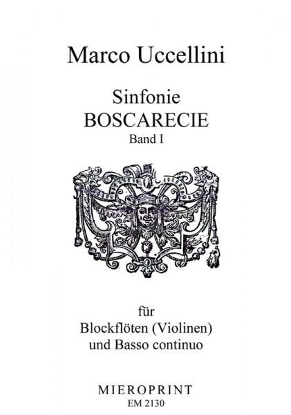 Sinfonie Boscarecie op. 8: Vol I – Marco Uccellini