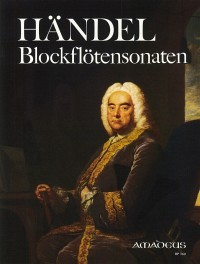 6 sonatas for treble recorder and bc. – Georg Friedrich Händel