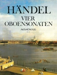 Four sonatas for oboe und B.c. – Georg Friedrich Händel