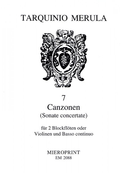 7 Canzons – Tarquinio Merula