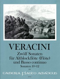 Twelve Sonatas: Volume IV – Francesco Maria Veracini, Winfried Michel