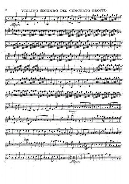 12 Concerti, Opus VI: 3 Stimmbände – Arcangelo Corelli
