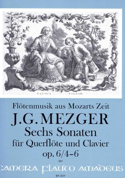 Flötenmusik aus Mozarts Zeit - Johann Georg Mezger
