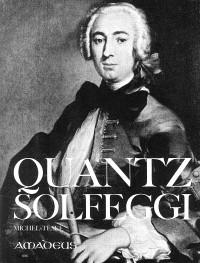 Solfeggi pour la flute traversière avec l'enseignement... – Johann Joachim Quantz