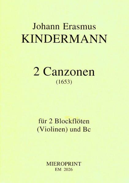 2 Canzonen – Johann Erasmus Kindermann