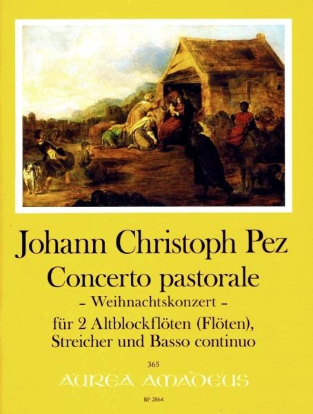 Weihnachtskonzert - Johann Christoph PEZ