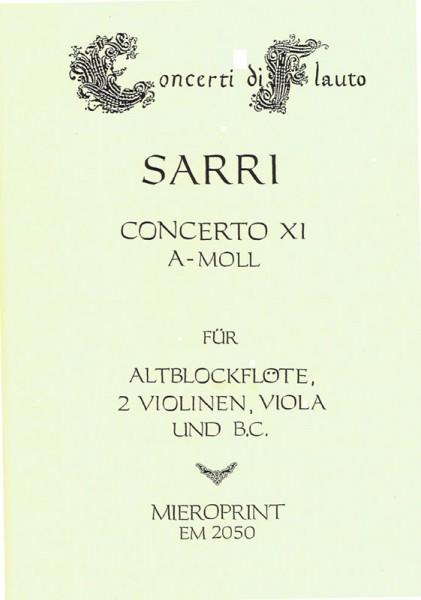 Concerto a-moll – Domenico Natale Sarri