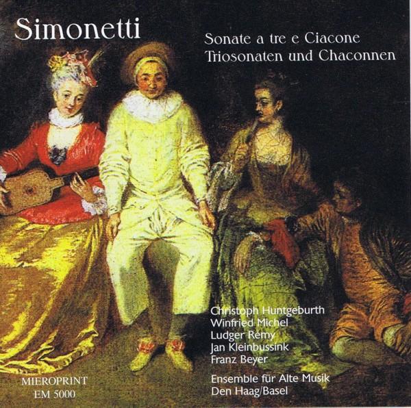 Simonetti – Sonate a tre e Ciacone