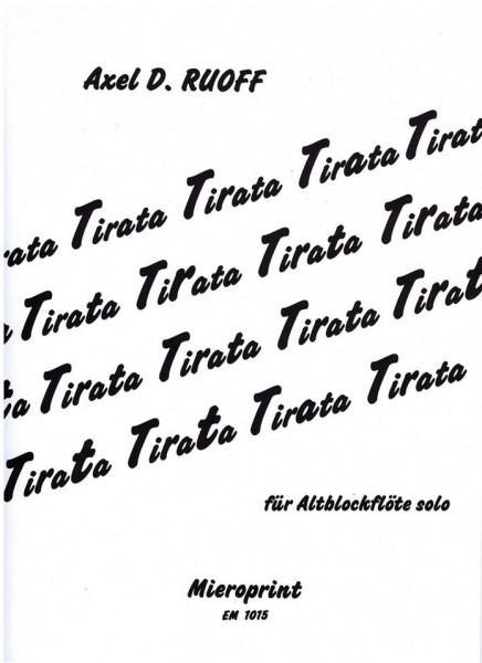 TIRATA – Axel D. Ruoff