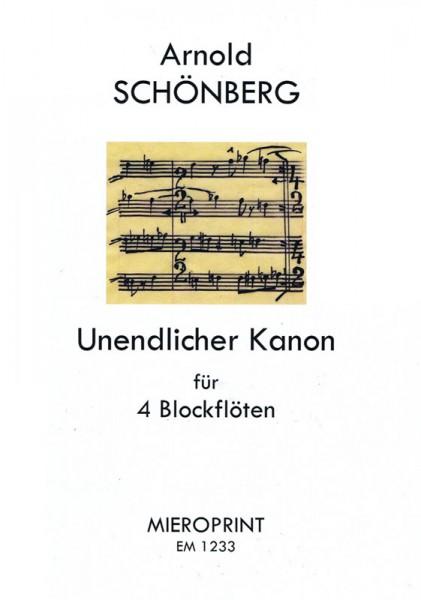 Unendlicher Kanon – Arnold Schönberg