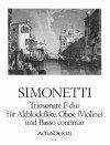 Simonetti/ Tomesini: Band VI – Giovanni Paolo Simonetti