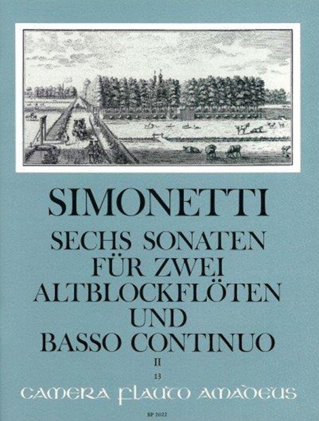 Simonetti/ Tomesini: Vol. II – Giovanni Paolo Simonetti