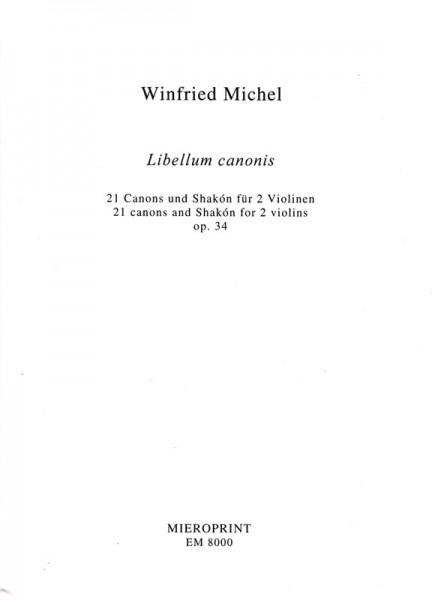 Libellum canonis – Winfried Michel