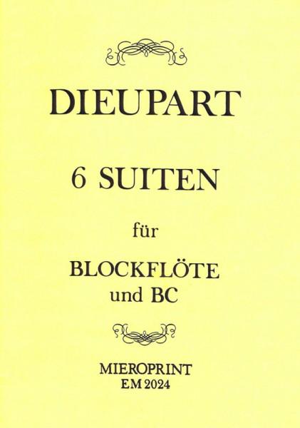Six Suites pour la Flûte – Charles Dieupart