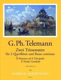 Zwei Triosonaten in e-moll und fis-moll – Georg Philipp Telemann