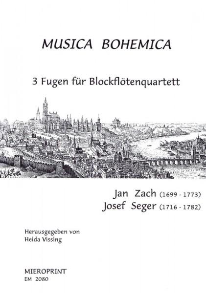 MUSICA BOHEMICA – Jan Zach, Josef Seger