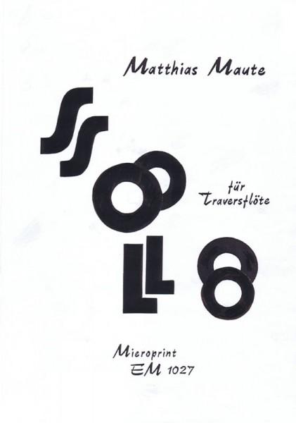 SOLO – Matthias Maute