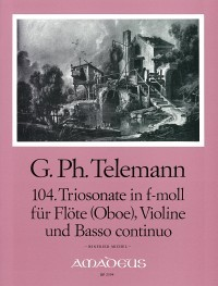 "3 ""Pariser Triosonaten"": Vol. II – Georg Philipp Telemann/ Winfried Michel"