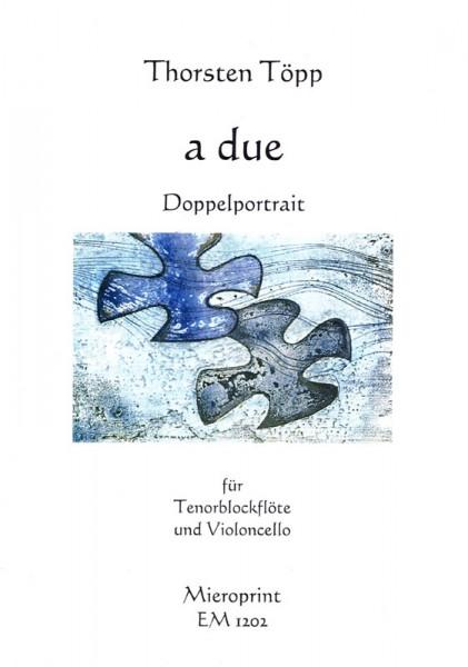 a due (Doppelporträt) – Thorsten Töpp